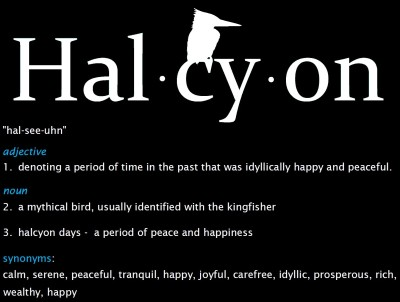Halcyon Definition 2