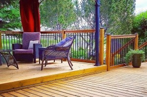 Exterior Renovations Custom Deck Build