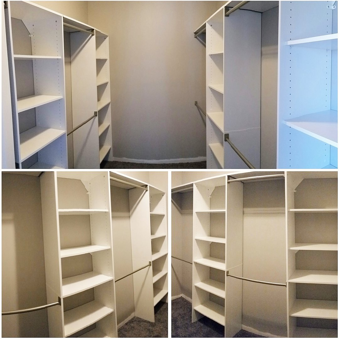 Halcyon Homes - Custom Closet Renovations - master suite