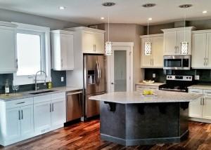 Halcyon Homes Custom Kitchen 1
