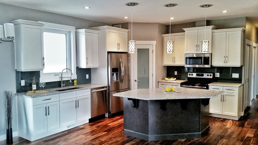 Halcyon Homes Custom Kitchen 1