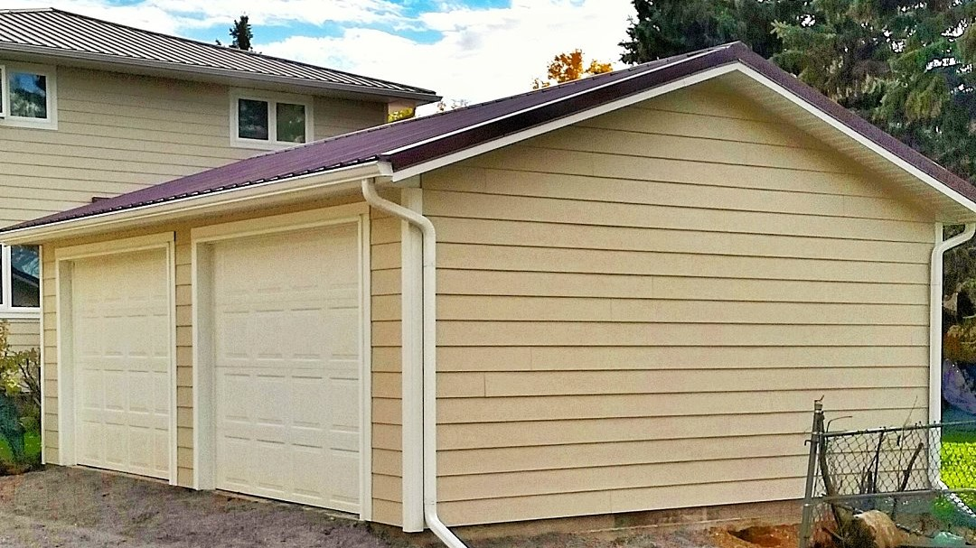 Halcyon Homes - Detached Garage - Fiber Cement Siding