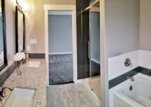 Halcyon Homes - Master Ensuite Bathroom